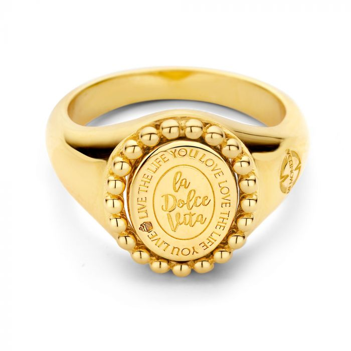 MM Vintage Ring Soho Goldplated