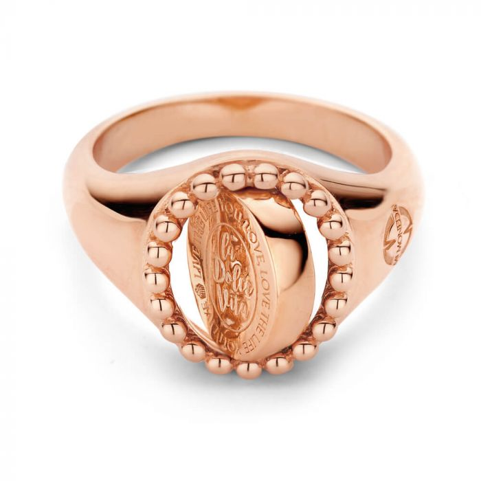 MM Vintage Ring Soho Rose Verguld