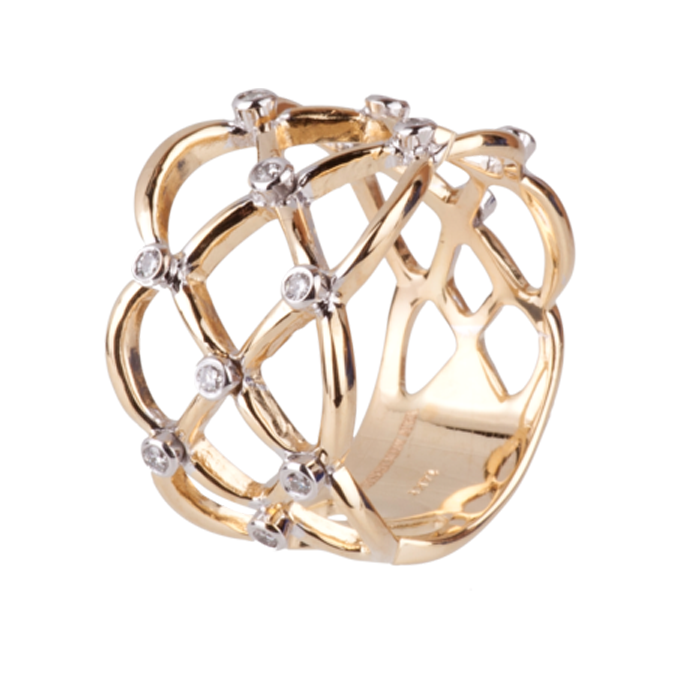 Ring bicolour - Reed Collectie