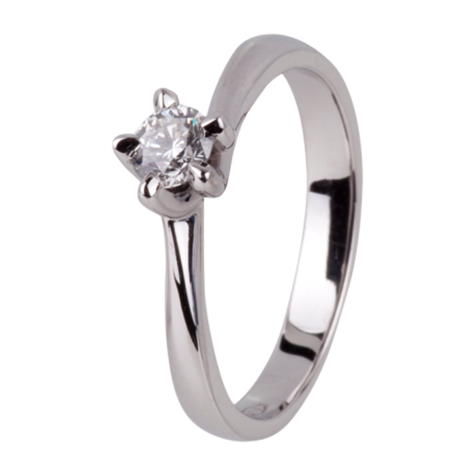 Solitaire Ring - Reed Collectie