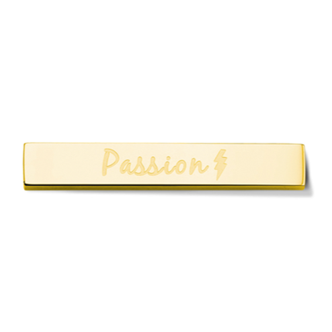 Bar - Passion - Gold toned