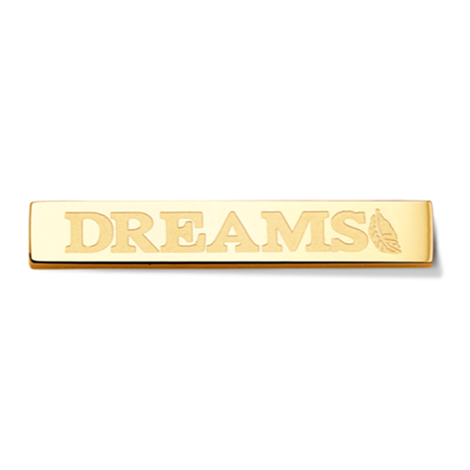 Bar - Dreams - Gold toned