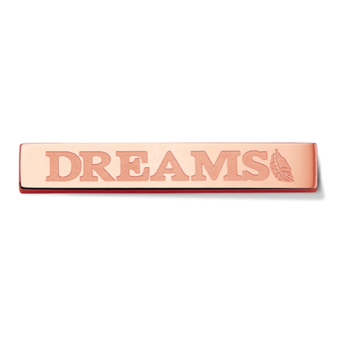 Bar - Dreams - Rosegold toned
