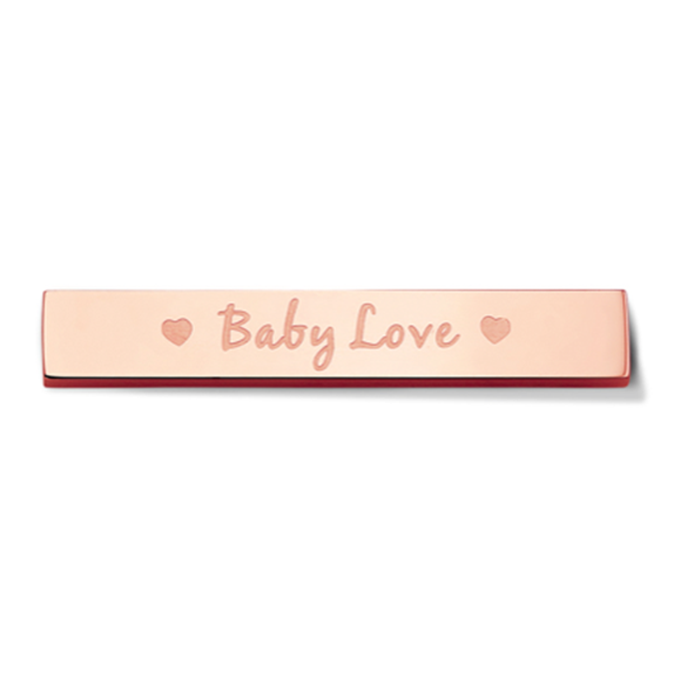 Bar - Baby love - Rosegold toned