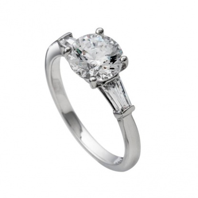 Diamonfire zilveren ring Bridal collectie