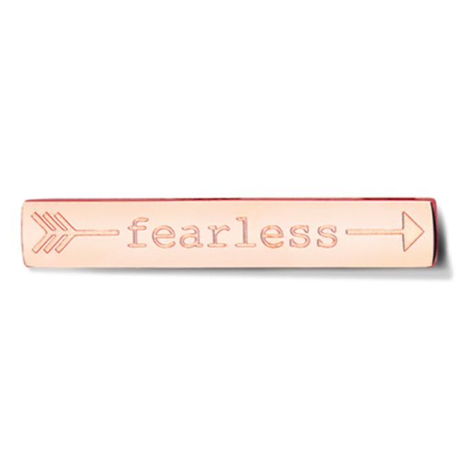 Bar - Fearless - Rosegold toned