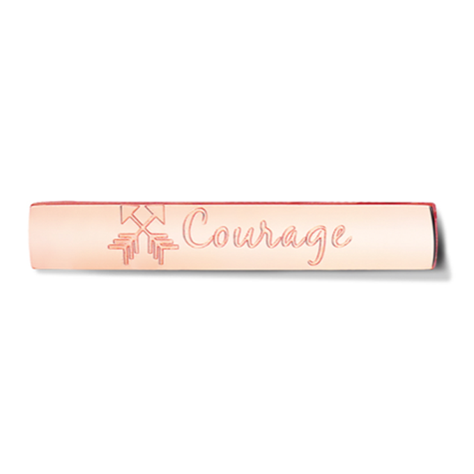 Bar - Courage - Rosegold toned