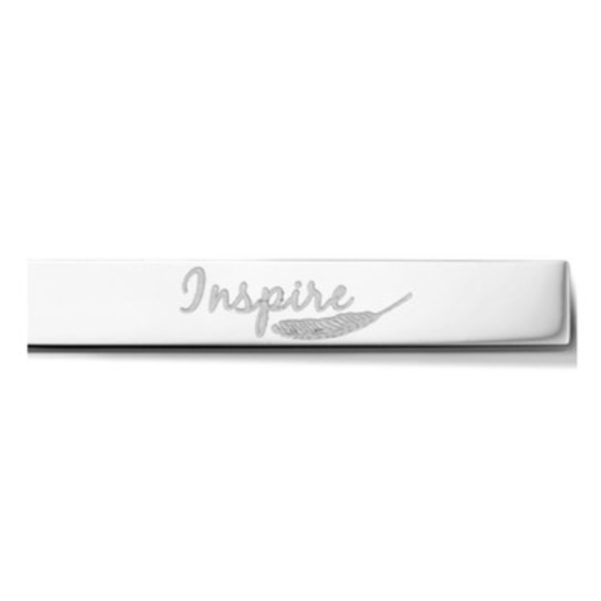 Bar - Inspire - Silver toned