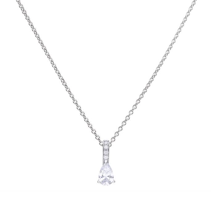 Diamonfire zilveren collier Bridal collectie